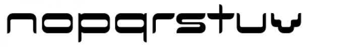 Evolution Normal Font LOWERCASE