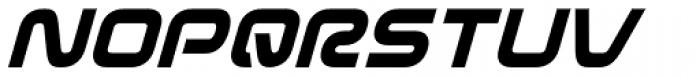 Evolver Italic Font UPPERCASE