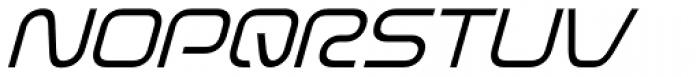 Evolver Light Italic Font UPPERCASE
