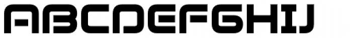 Evolver Font UPPERCASE