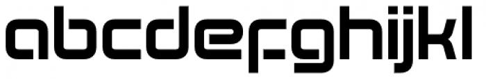 Evolver Font LOWERCASE