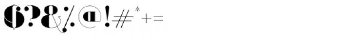 Evuschka Regular Font OTHER CHARS