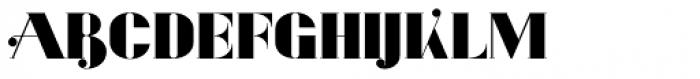 Evuschka Regular Font UPPERCASE