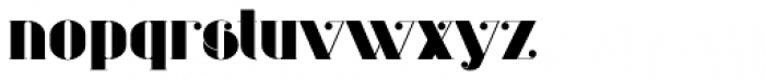 Evuschka Regular Font LOWERCASE