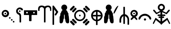 Ewok Font UPPERCASE