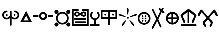 Ewok Font LOWERCASE