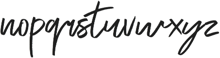 Exceptional otf (400) Font LOWERCASE