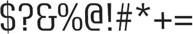 Exclusive regular otf (400) Font OTHER CHARS