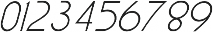 Exco Italic otf (400) Font OTHER CHARS