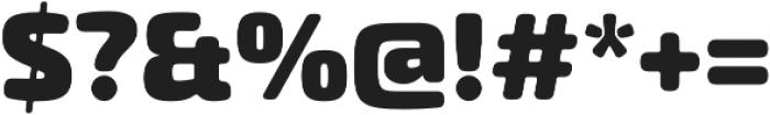 Exo Soft Black otf (900) Font OTHER CHARS