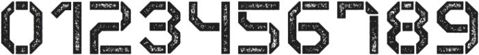Exomoon Letterpress otf (400) Font OTHER CHARS