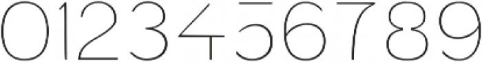 Exoplanet Regular otf (400) Font OTHER CHARS
