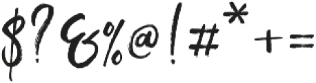 Exotic Taste Script otf (400) Font OTHER CHARS