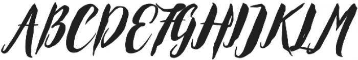 Exoticus otf (400) Font UPPERCASE