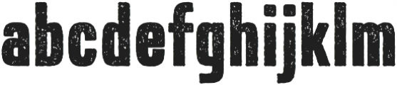 Expat Distressed otf (400) Font LOWERCASE