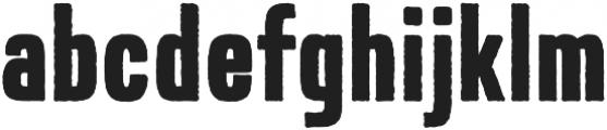 Expat Rough otf (400) Font LOWERCASE