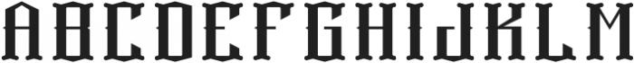 ExplorersFont Base otf (400) Font LOWERCASE