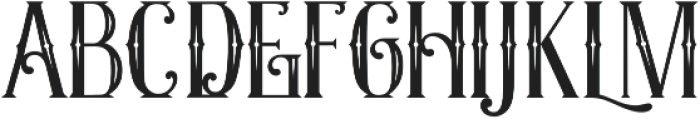 Exposition Inline otf (400) Font LOWERCASE
