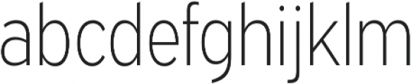 Expressway Condensed ExtraLight otf (200) Font LOWERCASE