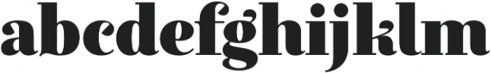 Exquise FY Black otf (900) Font LOWERCASE