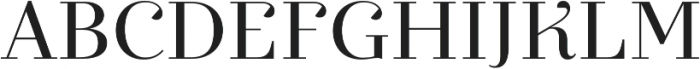 Exquise FY otf (400) Font UPPERCASE