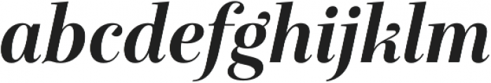 Exquise FY otf (700) Font LOWERCASE