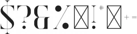 Exquisite Alt otf (400) Font OTHER CHARS