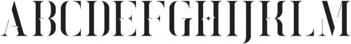 Exquisite Regular otf (400) Font UPPERCASE