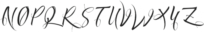 Exquisite ttf (400) Font UPPERCASE