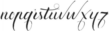 Exquisite ttf (400) Font LOWERCASE