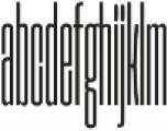 Extenda 10 Pica otf (400) Font LOWERCASE