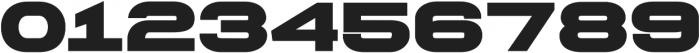 Extendo Sans Extra Bold ttf (700) Font OTHER CHARS