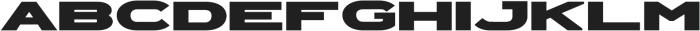 Extendo Sans Extra Bold ttf (700) Font LOWERCASE