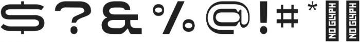 Extendo Sans Thin ttf (100) Font OTHER CHARS