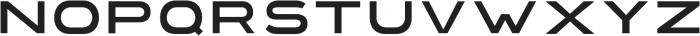 Extendo Sans Thin ttf (100) Font UPPERCASE