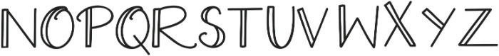 Extra Cheese Double ttf (400) Font LOWERCASE