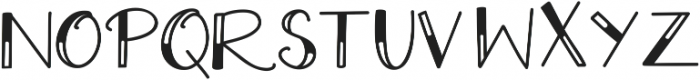 Extra Cheese Melted ttf (400) Font UPPERCASE