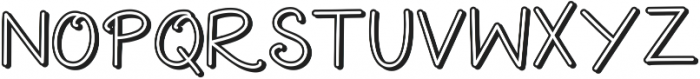 Extra Cheese Shadow ttf (400) Font LOWERCASE