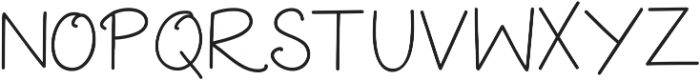 Extra Cheese ttf (400) Font UPPERCASE