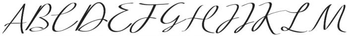 Extra Vaganza Regular otf (400) Font UPPERCASE