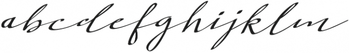 Extra Vaganza Regular otf (400) Font LOWERCASE