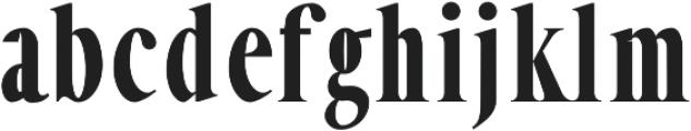 ExtraBold otf (700) Font LOWERCASE