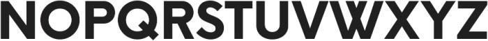 ExtraBold ttf (700) Font UPPERCASE