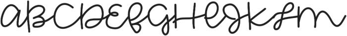 Extraordinary otf (400) Font UPPERCASE