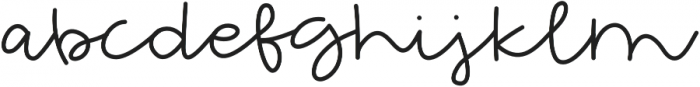 Extraordinary otf (400) Font LOWERCASE
