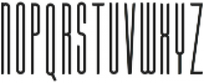 Extratall Regular otf (400) Font LOWERCASE