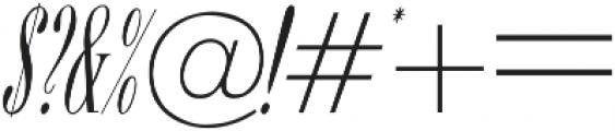 ExuberItalic ttf (400) Font OTHER CHARS