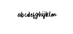 Exotic Queen Font LOWERCASE