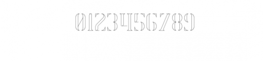 Exquisite-Outline.otf Font OTHER CHARS
