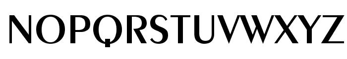 Exotica Font UPPERCASE